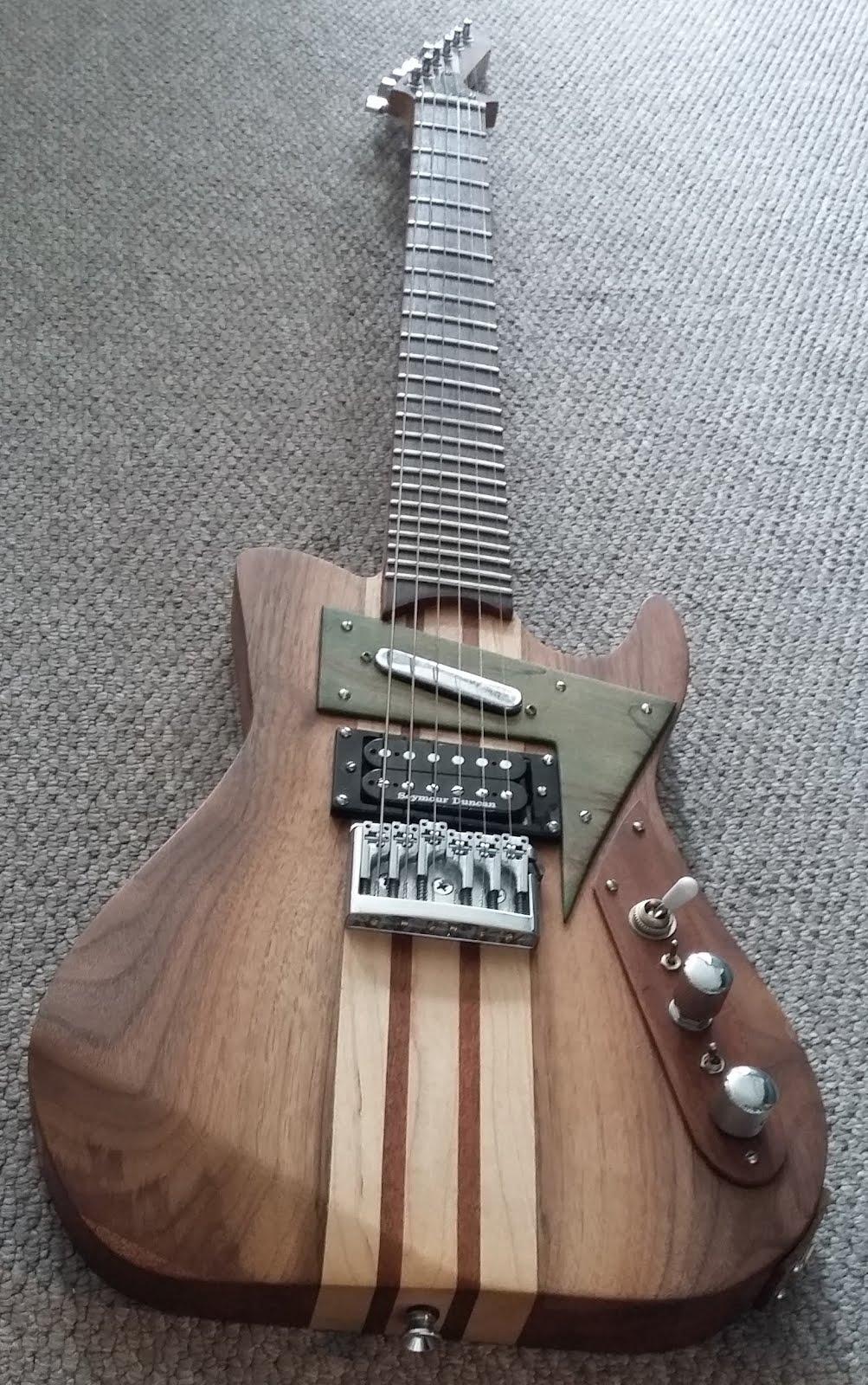 Sb3 Sbc Guitars Rewiring A Semihollow Guitar Part Two Youtube The Green Machine In Its Original State